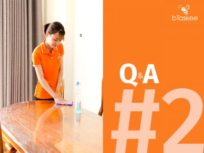 Giúp việc nhà theo giờ: những vấn đề thường gặp và cách giải quyết (phần 2)