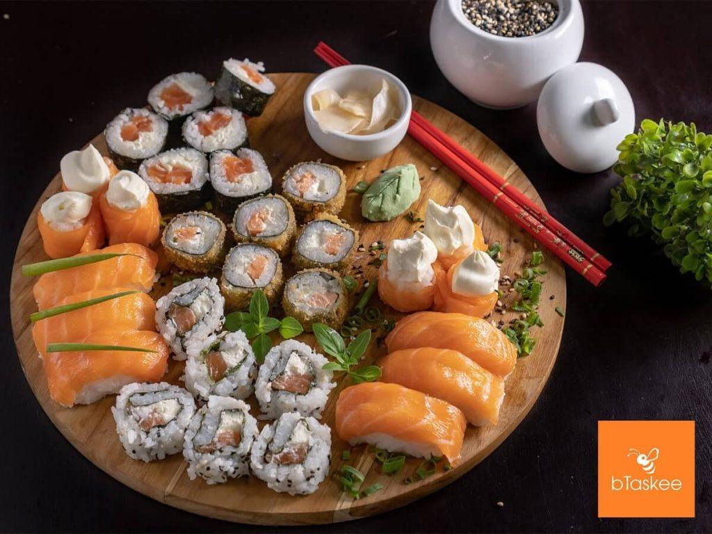 lam sushi va sashimi tuyet ngon