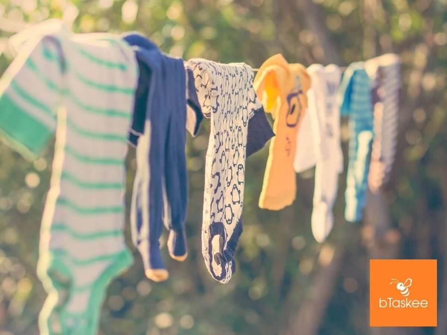 Cách phơi quần áo làm từ vải Linen