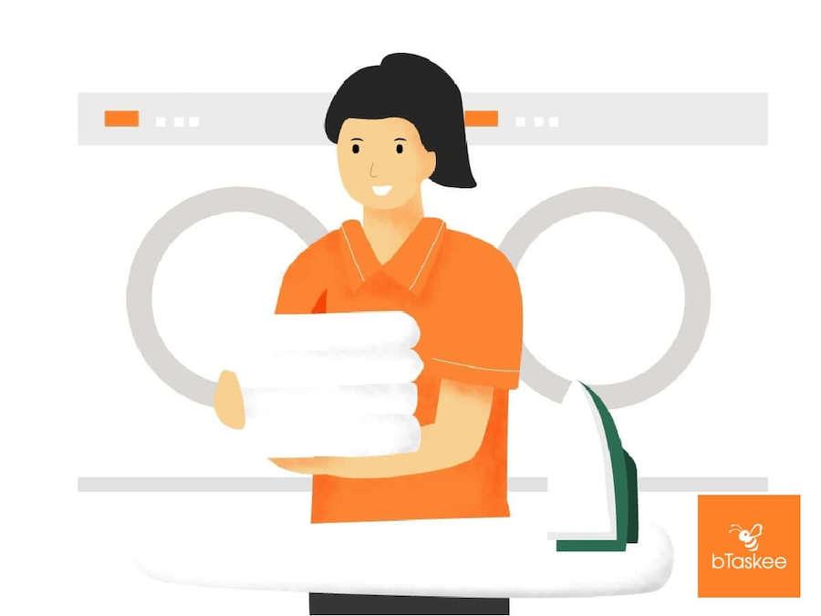 Dịch vụ giặt ủi bTaskee