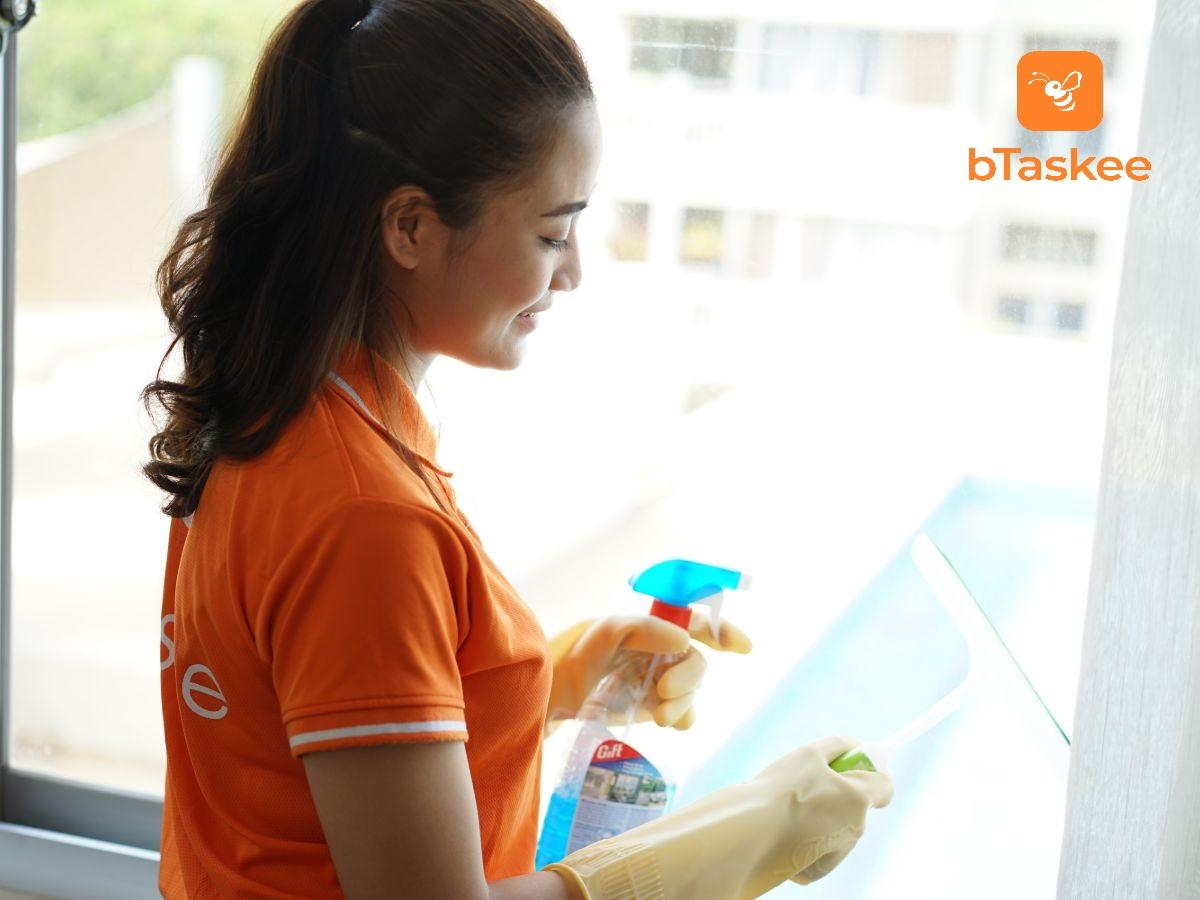 Nhân viên giúp việc nhà theo giờ bTaskee