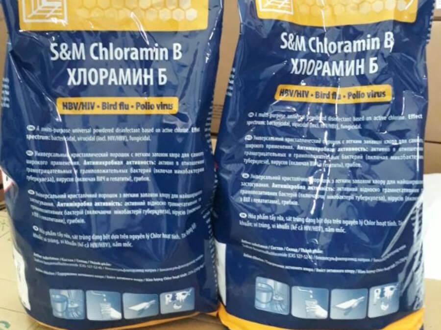 bột khử trùng cloramin B