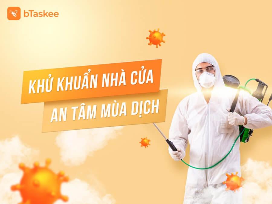 dịch vụ khử khuẩn bTaskee