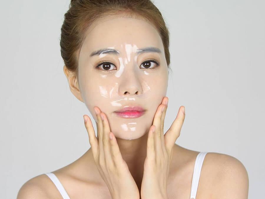 đắp mặt nạ là bí quyết dưỡng da kiểu hàn