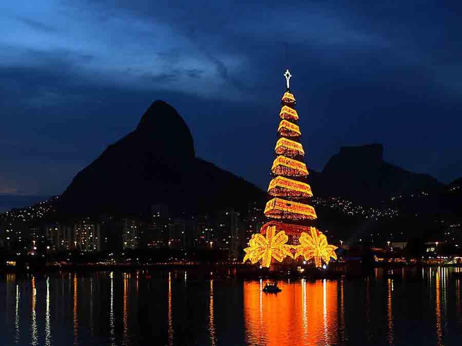 cây thông noel đẹp nhất tại Brazil