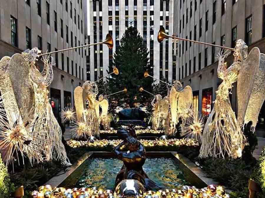 cây thông noel đẹp nhất tại New York, Mỹ