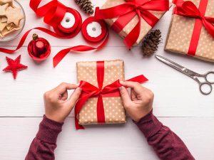 cách gói quà giáng sinh