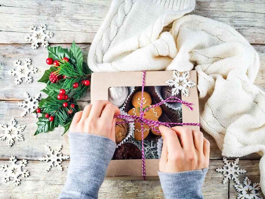 gói quà giáng sinh