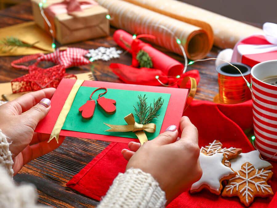 làm quà giáng sinh handmade