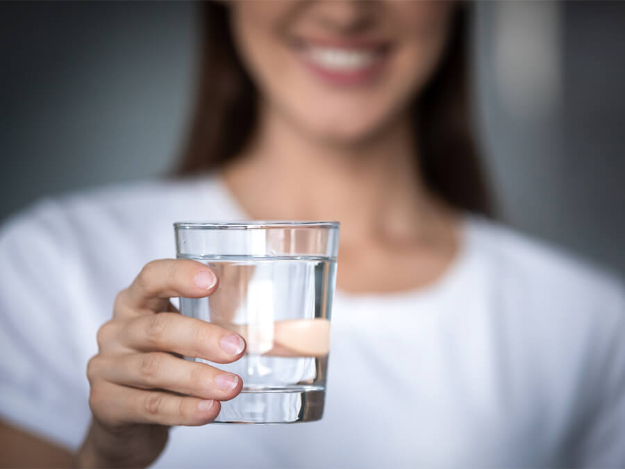 uống đủ nước
