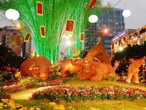 Địa điểm chơi Tết Sài Gòn