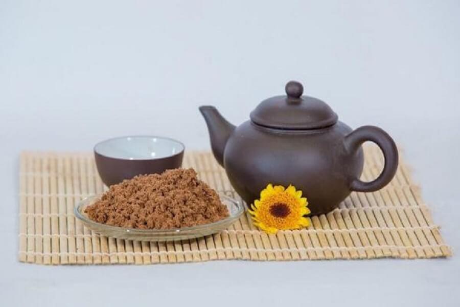trà linh chi dạng bột