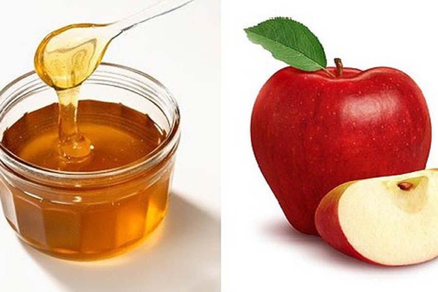 táo mật ong chăm sóc da dầu