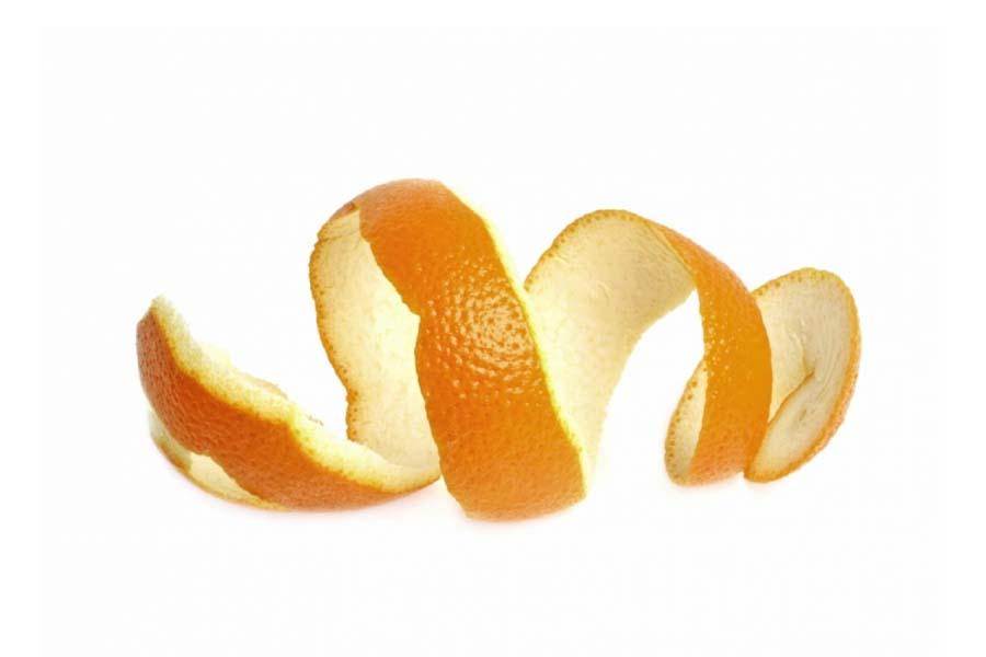 vỏ cam giúp chữa mắc xương cá