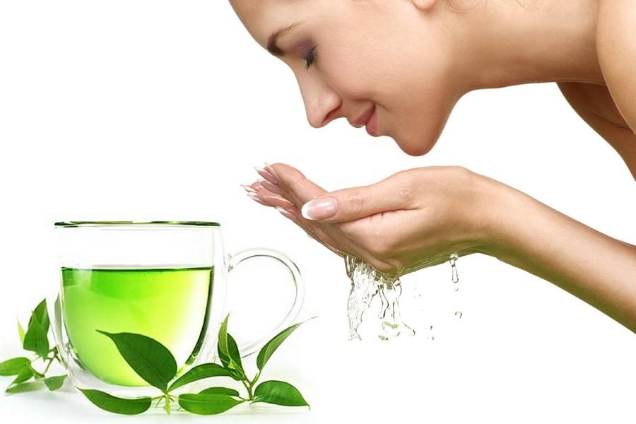 làm xịt khoáng từ trà xanh